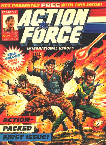 Action Force Weekly