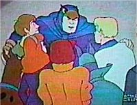 Scooby and Mystery Inc. with their allies Blue Falcon and Dynomutt
