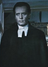 Patrick McGoohan as the Reverend Dr. Syn