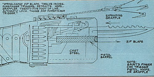 Gaunt's weapon block, designed by Uncle Willy.