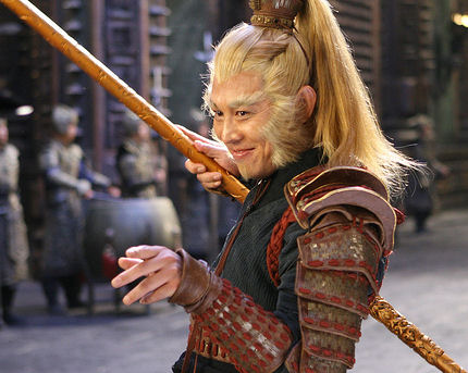 Jet Li as the Monkey King in The Forbidden Kingdom