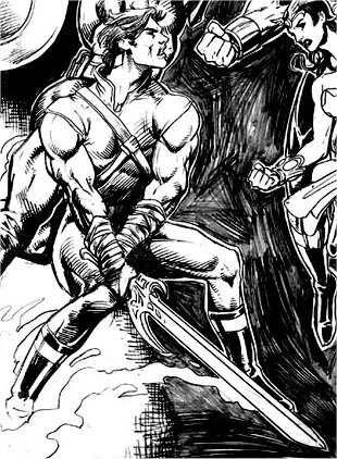 Ang Panday as depicted by Gilbert Monsanto