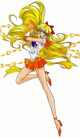 Sailor V, now that's one hot tamale!!