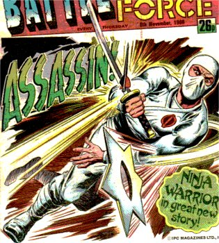 Storm Shadow, one of the Cobra villains